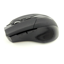 Moonar 2.4GHz Wireless Optical Mouse Mice for Laptop PC (Black)