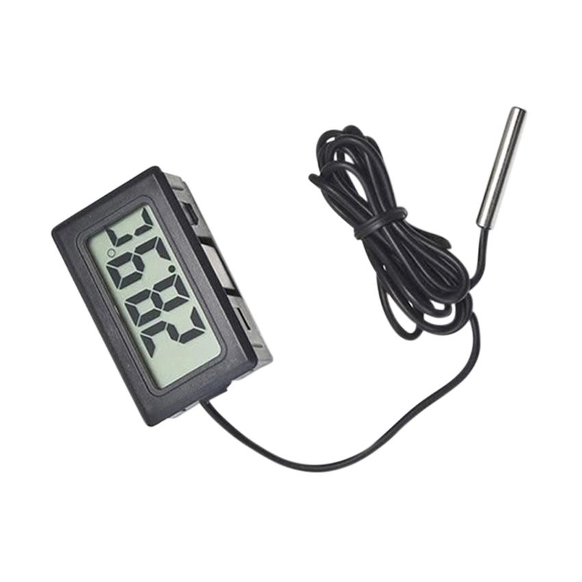 Moonar Aquarium LCD Digital Fish Tank Water Thermometer (Black)