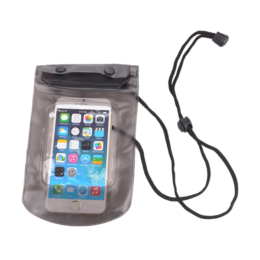 Moonar Double Sealing Bag Case Protector For iPhone (Black)