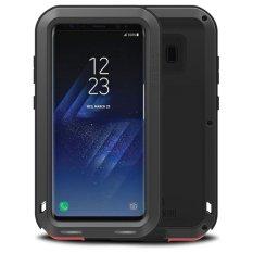 Mooncase Case For Samsung Galaxy S8 Waterproof,Shockproof Snowproof Dustproof Durable Aluminum Metal Gorilla Heavy