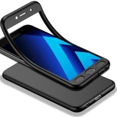 MOONCASE Galaxy A5 (2017) Full-Body Case Shockproof Soft TPU Matte Finish Slim