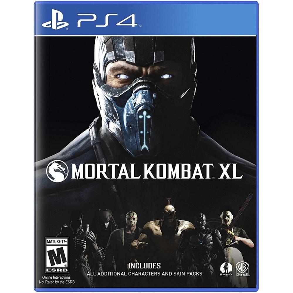 MORTAL KOMBAT XL PS4 GAME R3,R1 MINT CONDITION