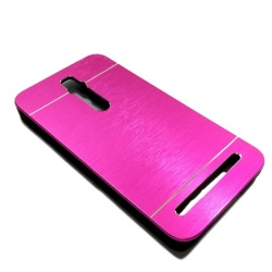 Motomo Aluminum Metal Case for Asus Zenfone 2 (Pink)