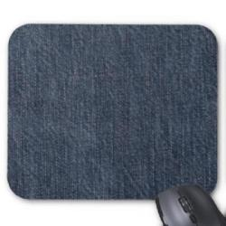 Mouse Pad jean  (5pcs)