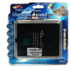 MSM.HK Li-lon Battery for O+ BAT34F Fab Go Android (Black)