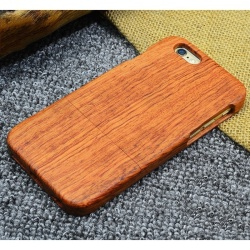 Natural Wooden Wood Bamboo Phone Case For Apple iPhone 6s Plus - intl