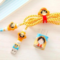 New Cute Cord Protector for Cables of Mobile Phones Ipads Tablets Laptops - Style D8
