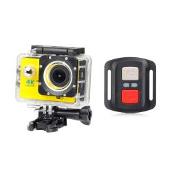 New Full HD 1080P WIFI H16R Action Sports Camera Camcorder Waterproof+Remote Yellow - intl