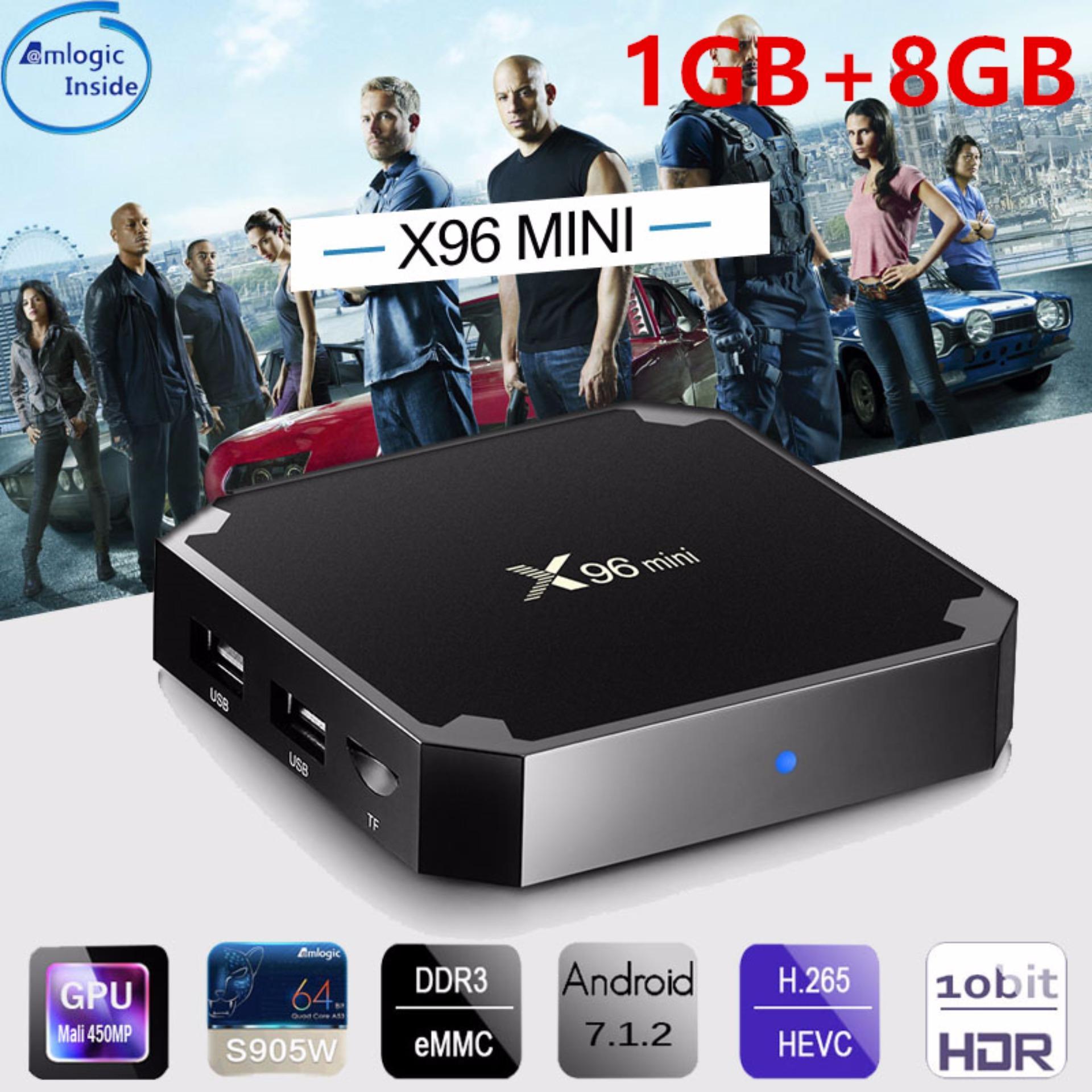 Video Streamer For Sale Media Prices Brands Specs In Android 71 Tv Box H96 Pro Plus Ram 3gb Rom 32gb Kodi Loaded New X96 Mini Smart Player 1 2gb 8 16gb Amlogic S905w Quad