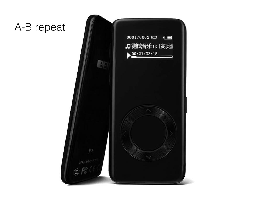 Mp3 player for sale music player prices brands specs in newest benjie k3 8g mp3 music player lossless hifi mp3 player mini portable audio player alloy fandeluxe Gallery