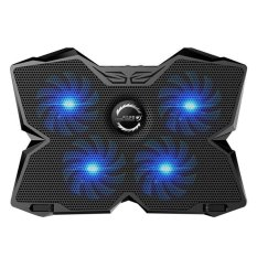 niceEshop KOBWA Laptop Cooler Cooling Pad Stand Ultra-quiet Gaming Notebook Cooler For 15.6-