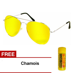 Night View Glasses with Free Chamois (B)