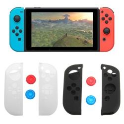 Nintendo Switch Anti-Slip Soft Silicone Cover Case Skins for Joy-Con Controller - intl