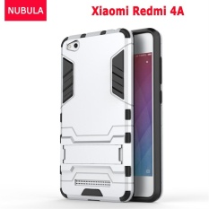 NUBULA 360 degrees Ultra-thin Hard Back Cover For Xiao mi Redmi 4A Detachable 2 in 1 Hybrid Armor Shell Case Dual-Layer Full Protective Shockproof Case ...