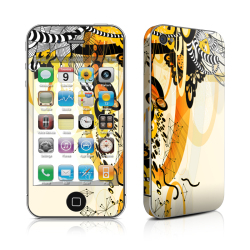 Odd Stickers Skin Cover fapart Pattern 1 for Apple iPhone 4/4s