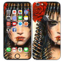 Odd Stickers Skin Cover Girl Pattern 1 for Apple iPhone 6