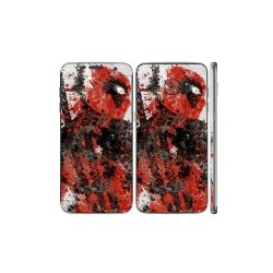 Oddstickers Dead Pool Design Phone Skin Cover for Samsung Galaxy S7 Edge