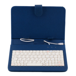 OEM PU Leather Case Cover USB Keyboard For Tablet