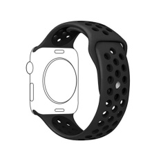 Ontube For Apple Watch Band Series 3/2/1, Soft Silicone Sport Bracelet