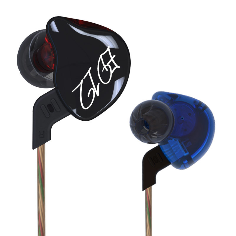 Original KZ ED12 Custom Style Earphone Detachable Cable In Ear Audio Monitors Noise Isolating HiFi Music