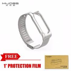 Original Mijobs Metal Strap For Xiaomi Mi Band 2 Straps Screwless Stainless Steel Bracelet By Great S Enterprises.
