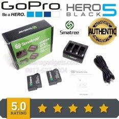 Original Smatree SM-503 Battery (2-Pack) for Gopro hero 5 &