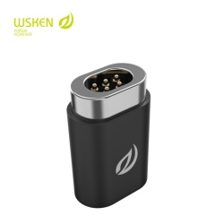 Original Wsken USB Type C Cable Mini Magnetic Adapter to (Wsken Mini1 or Mini2) Micro USB Plug Connector Adapter Organizer For Android Phone Tablet - intl