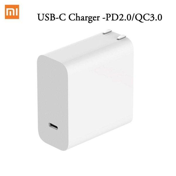USB-C Xiaomi Mi Chính Hãng Sạc Loại C 45W Hỗ Trợ Giao Điện PD2.0 Sạc Nhanh QC3.0 Bao Gồm Bộ Chuyển Đổi MacBook Pro Mới-Intl