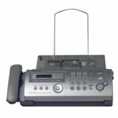 Panasonic Kx_fp215e Compact Plain Paper Fax With Digital Answering System (silver) By Mega Dimps Home Appliances.