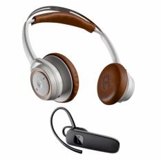 Plantronics BackBeat Sense Bundled with Plantronics ML15 Bluetooth Headset 74d3f376fa