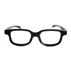 Polarized 3D Glasses Black Movie DVD LCD Video Game Theatre Circular - intl( Black) 3b302a850a
