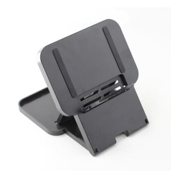 Portable Holder Support Frame Bracket Desktop Stand for Nintendo Switch (Black) - intl