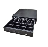 Heavy Duty POS Cash Register Drawer 5 Bills/& 8 Coins Removable Tray Till 12 Volt