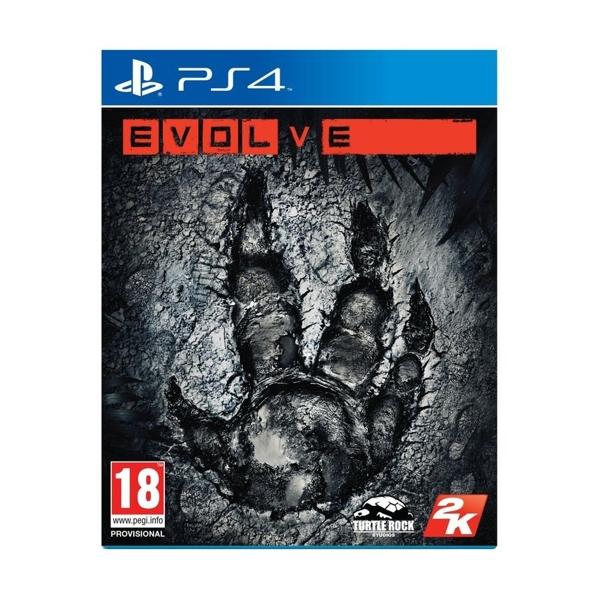 PS4 Video Game Tape : Evolve product preview, discount at cheapest price