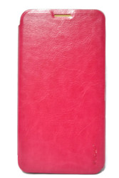 Pudini Leather Case for ZTE Grand X2 L V969 (Pink)
