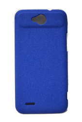 Quicksand Hard Case for ZTE V967S (Dark Blue)
