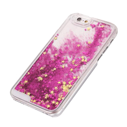 Quicksand Star Plastic Protective Phone Case (Rose)