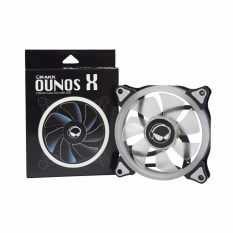 Rakk Ounos X 120mm Eclipse White Led Fan By Easypc.
