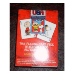 Rare! Peanuts Gang Deck Playing Cards - Snoopy. Charlie Brown. Etc. - intl