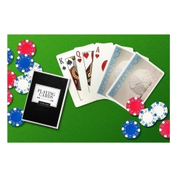 Redondo Beach. California - Sand Dollar and Beach (Playing CardDeck - 52 Card Poker Size with Jokers) - intl