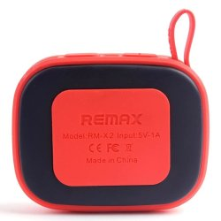 Remax X2 Portable Bluetooth Speaker (Red)