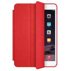 Retina Leather Stand Back Case for iPad mini 1/2/3 (Red)