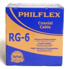 Philflex philippines philflex price list cables wires cords rg06 r 300 philflex rg6 coaxial cable 300m greentooth Gallery