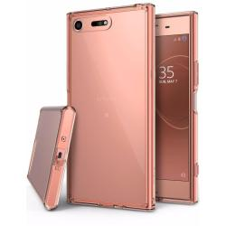 Ringke Fusion Case for Sony Xperia XZ Premium(Rose Gold)