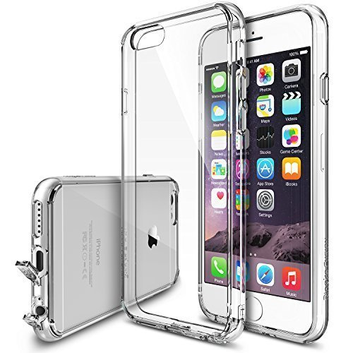 Ringke Premium Hybrid Hard Case for Apple iPhone 66s (Clear)