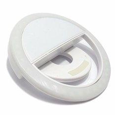 Rk-12 Selfie Ring Fill Light Smart Led Camera For Smartphone (white) By Adamas.