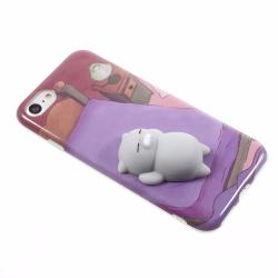 "Rosu Squishy Cute 3D Silicone Pig Phone Case for iPhone 6 6S PLUS (5.5"")"