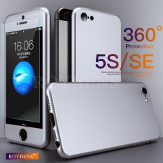 PHP 419. Roybens 360° Full Hybrid Acrylic Hard Case Cover + Tempered Glass For iPhone ...