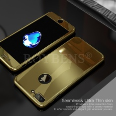 Roybens Mirror Hybrid 360° Hard Thin Case + Tempered Glass Cover For iPhone 7 Plus