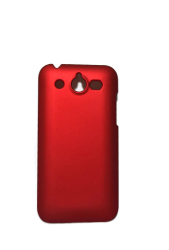 Rubberized Hard Case for Honor U8860 (Red)